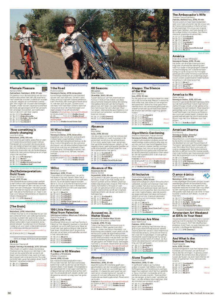 IDFA Programma 2018_Pagina_50